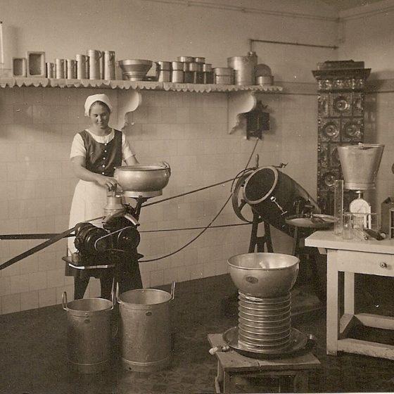 Die Milchverarbeitung war eine der
